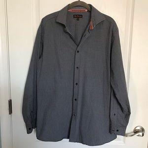 "Ben Sherman Button Front Shirt 15.5"""